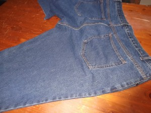 Denim Apron 002