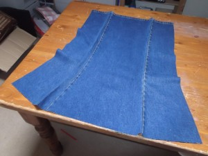 Denim Apron 006