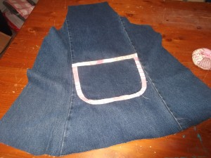Denim Apron 012