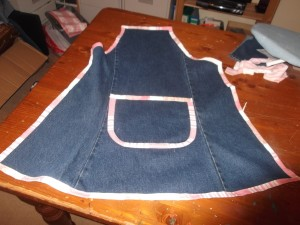 Denim Apron 014