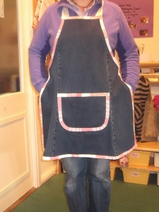 Denim Apron 015