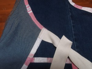 Denim Apron 016