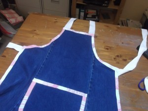Denim Apron 017