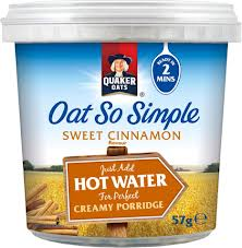 store bought instant porridge