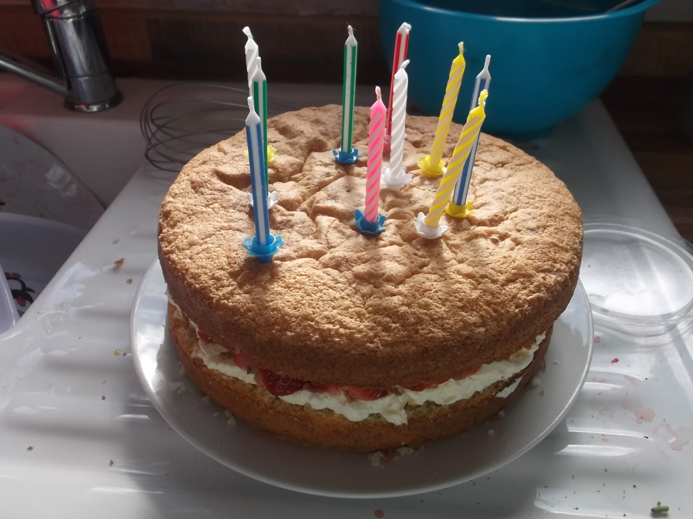 the fatless sponge birthday boy special mortgage free in three on birthday cake sponge recipe mary berry