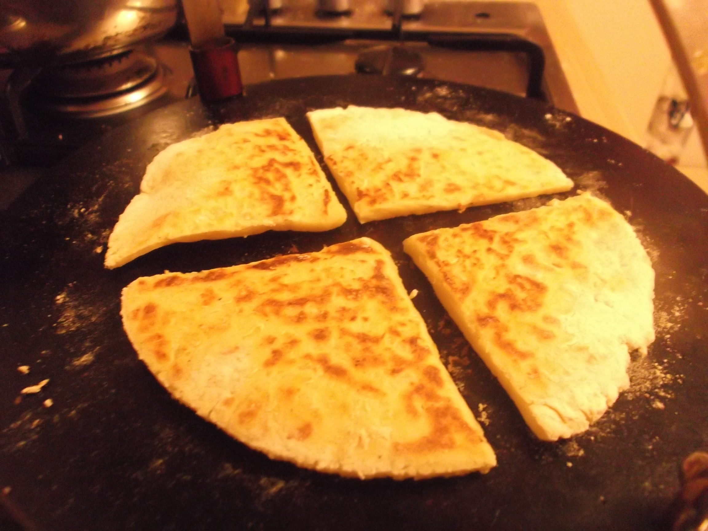 nicely …………………… my Granny's recipe for Tattie Scones ...