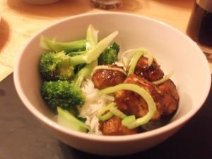 Mandarin Glazed Tofu