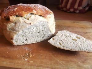 No Knead Crusty Loaf – sometimes it IS about the basics!