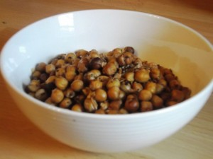 Salt and Pepper Chickpeas