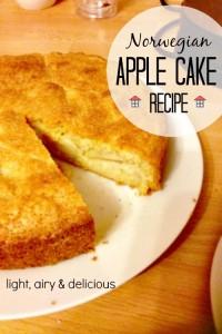 Nikla's Norwegian Apple Cake