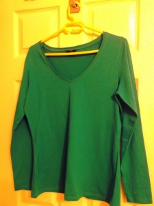 Frugal Wardrobe – the layer up T's