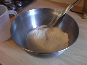 Aloo Paratha .. amazing! 300g of chapatti flour.