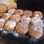 30 Minute Granary Rolls. Dozen baked rolls