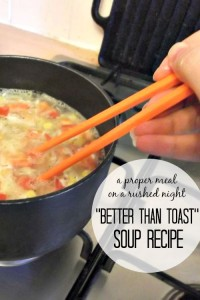Better than Toast Soup