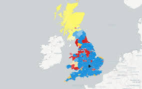Who'd be Young? Election Map 2015