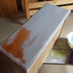 Frugal Chalk Painting for Furniture - thin coats, slap it on
