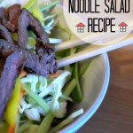 Frugal Noodle Salad
