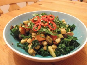 Warm Moroccan Salad