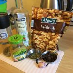 Balsamic Walnut & Mustard Salad Dressing