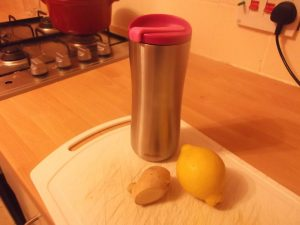 Lemon and Ginger Tea - ingredients