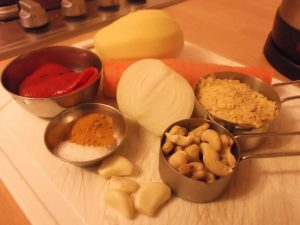 Cheez Sauce - ingredients