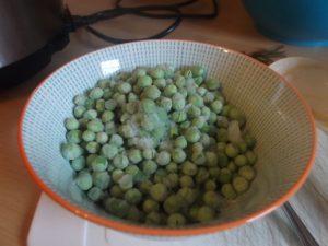 Beefless Stew - frozen peas