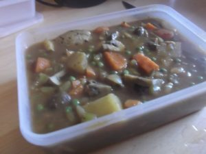 Beefless Stew - freezer pack