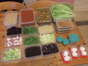 The Weekly Prep - the weekly table