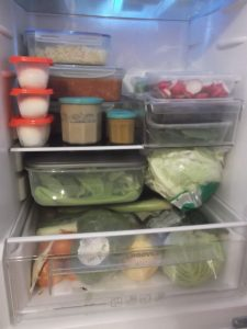 The Weekly Prep - the fridge
